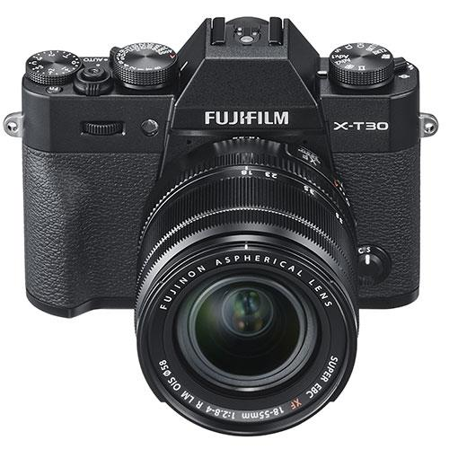 X-T30 Mirrorless Camera in Black with XF18-55mm Lens Product Image (Secondary Image 2)