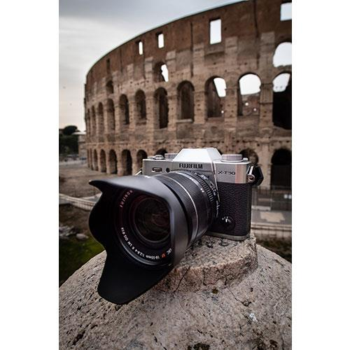 X-T30 Mirrorless Camera in Silver with XF18-55mm Lens Product Image (Secondary Image 7)