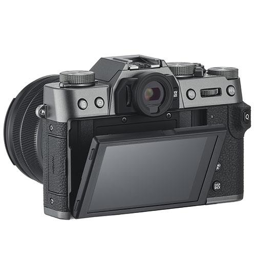 X-T30 Mirrorless Camera Body in Charcoal Product Image (Secondary Image 2)