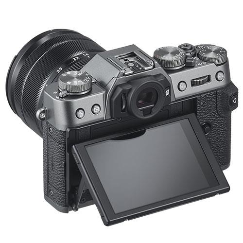 X-T30 Mirrorless Camera in Charcoal with XC15-45mm Lens Product Image (Secondary Image 1)