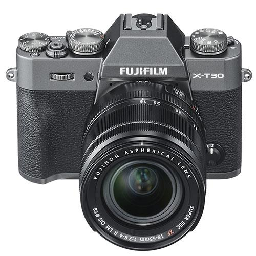 X-T30 Mirrorless Camera in Charcoal with XF18-55mm Lens Product Image (Secondary Image 5)