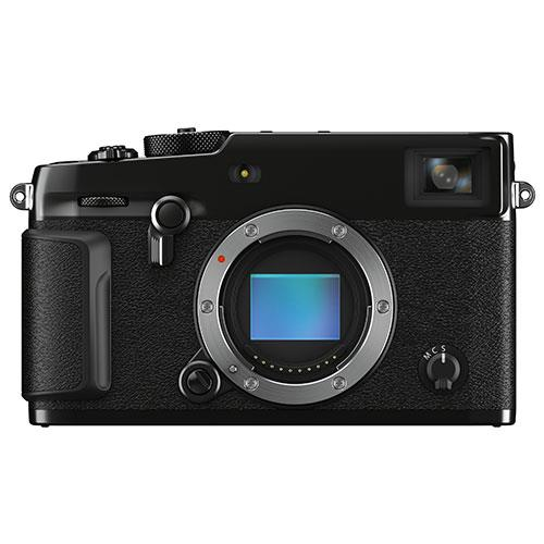 X-Pro3 Mirrorless Camera Body in Black Product Image (Primary)
