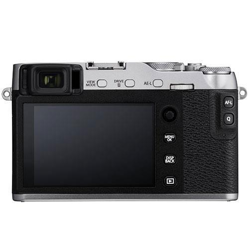X-E3 Mirrorless Camera in Silver with XF23mm f/2 R WR Lens - Ex Display Product Image (Secondary Image 2)