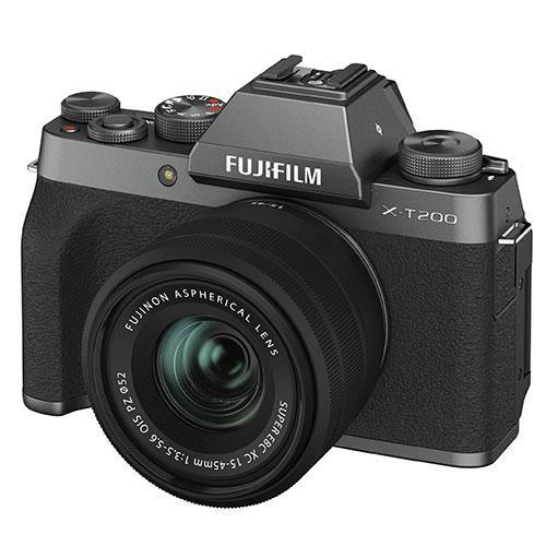 X-T200 in  Dark Silver with XC15-45mm Lens Vloging Kit Product Image (Secondary Image 2)