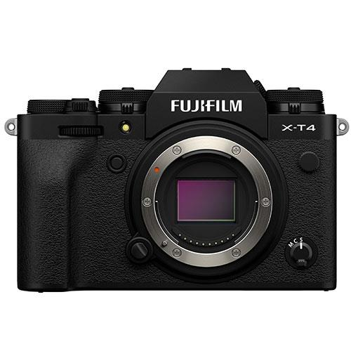 X-T4 Mirrorless Camera Body in Black Product Image (Primary)