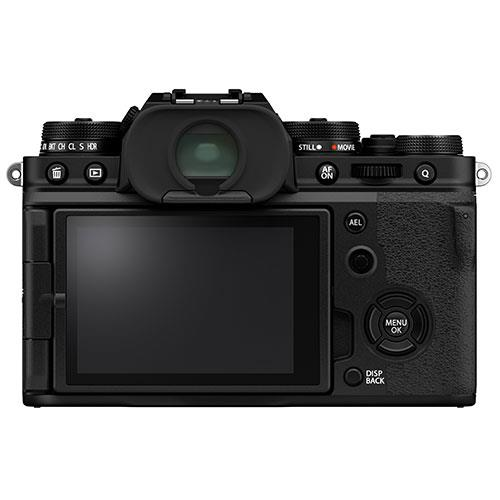 X-T4 Mirrorless Camera Body in Black Product Image (Secondary Image 1)