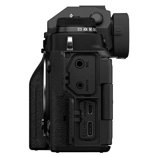X-T4 Mirrorless Camera Body in Black Product Image (Secondary Image 4)