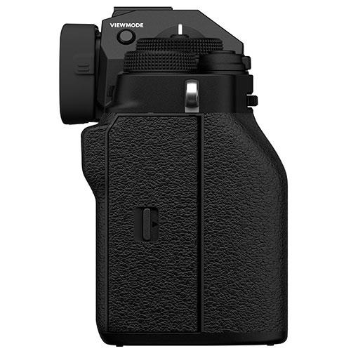 X-T4 Mirrorless Camera Body in Black Product Image (Secondary Image 5)