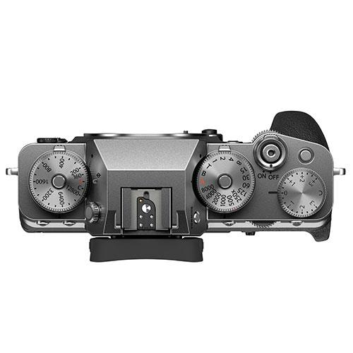 X-T4 Mirrorless Camera Body in Silver Product Image (Secondary Image 2)
