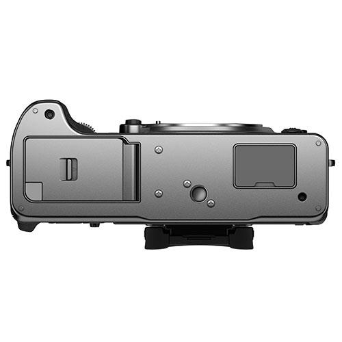 X-T4 Mirrorless Camera Body in Silver Product Image (Secondary Image 3)