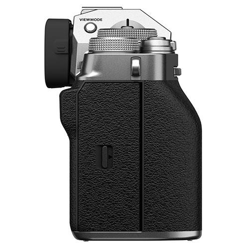 X-T4 Mirrorless Camera Body in Silver Product Image (Secondary Image 4)