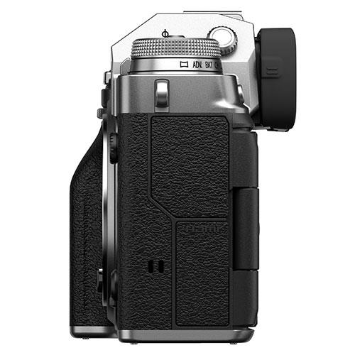 X-T4 Mirrorless Camera Body in Silver Product Image (Secondary Image 5)