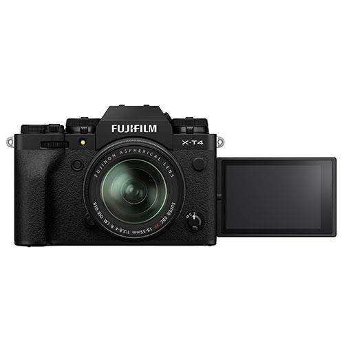 X-T4 Mirrorless Camera in Black with XF18-55mm Lens Product Image (Secondary Image 3)