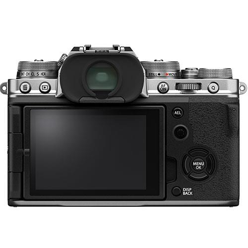 X-T4 Mirrorless Camera in Silver with XF18-55mm Lens Product Image (Secondary Image 1)