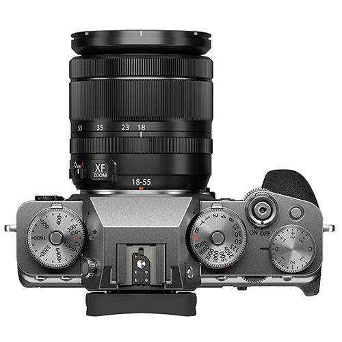 X-T4 Mirrorless Camera in Silver with XF18-55mm Lens Product Image (Secondary Image 3)