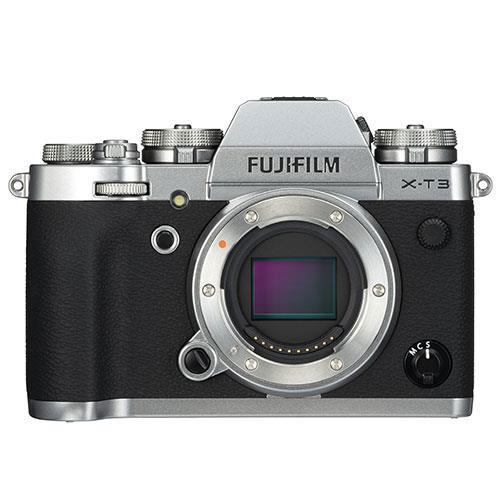 X-T3 Mirrorless Camera Body in Silver - Ex Display Product Image (Primary)