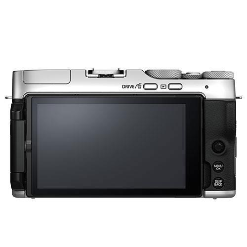X-A7 Mirrorless Camera in Silver with XC15-45mm Lens - Ex Display Product Image (Secondary Image 1)