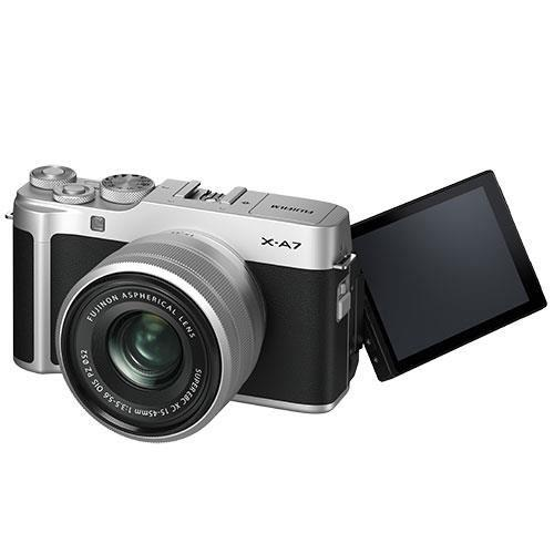 X-A7 Mirrorless Camera in Silver with XC15-45mm Lens - Ex Display Product Image (Secondary Image 2)
