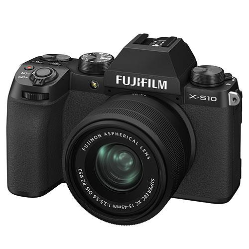 X-S10 Mirrorless Camera in Black with XC15-45mm Lens Product Image (Secondary Image 2)