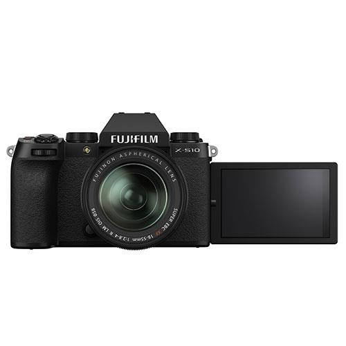 X-S10 Mirrorless Camera in Black with XF18-55mm Lens Product Image (Secondary Image 2)
