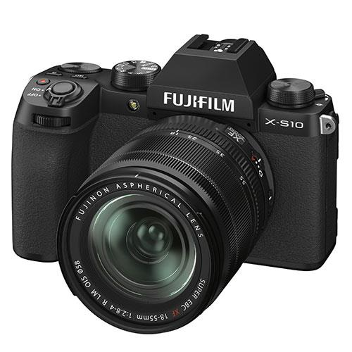 X-S10 Mirrorless Camera in Black with XF18-55mm Lens Product Image (Secondary Image 3)