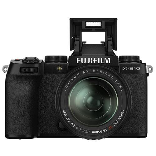 X-S10 Mirrorless Camera in Black with XF18-55mm Lens Product Image (Secondary Image 4)