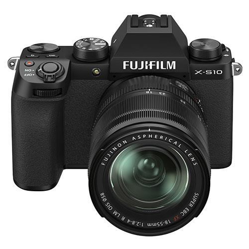 X-S10 Mirrorless Camera in Black with XF18-55mm Lens Product Image (Secondary Image 5)
