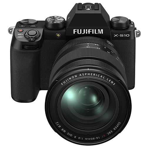 X-S10 Mirrorless Camera in Black with XF16-80mm Lens Product Image (Secondary Image 3)
