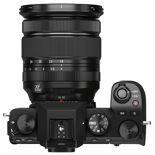 X-S10 Mirrorless Camera in Black with XF16-80mm Lens Product Image (Secondary Image 4)