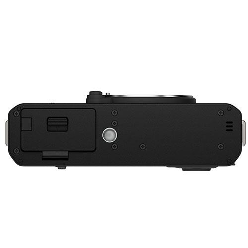 X-E4 Mirrorless Camera Body in Black Product Image (Secondary Image 3)