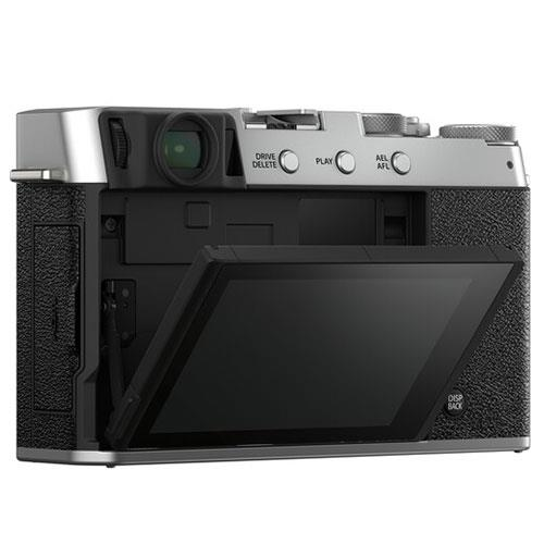 X-E4 Mirrorless Camera Body in Silver Product Image (Secondary Image 2)