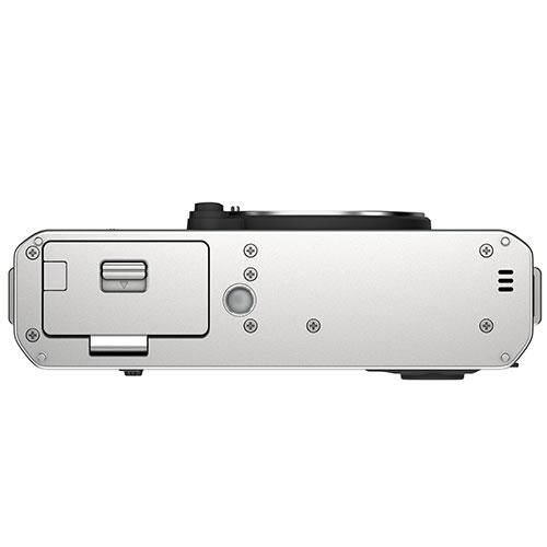 X-E4 Mirrorless Camera Body in Silver Product Image (Secondary Image 4)