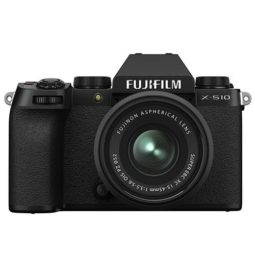 X-S10 Mirrorless Camera in Black with XC15-45mm Lens and Vlogger Kit Product Image (Secondary Image 1)