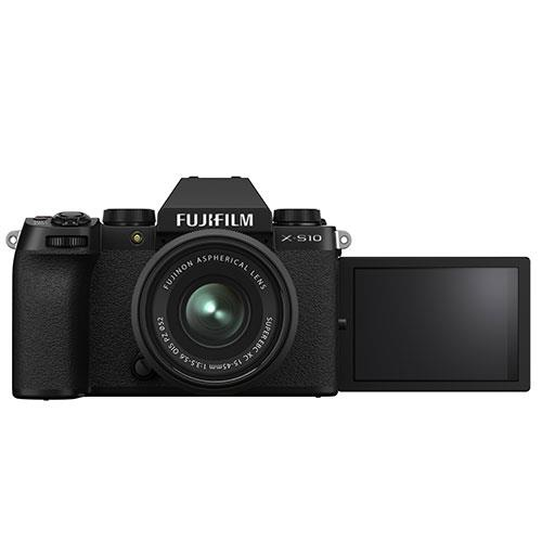 X-S10 Mirrorless Camera in Black with XC15-45mm Lens and Vlogger Kit Product Image (Secondary Image 3)