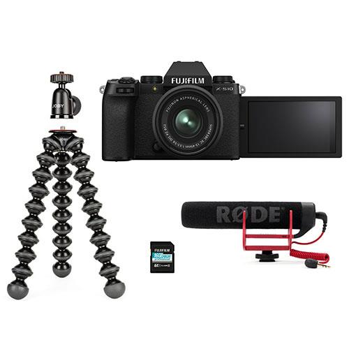 X-S10 Mirrorless Camera in Black with XC15-45mm Lens and Vlogger Kit Product Image (Secondary Image 6)
