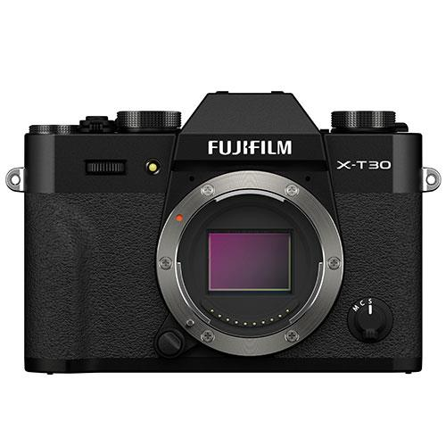 X-T30 II Mirrorless Camera Body in Black Product Image (Primary)