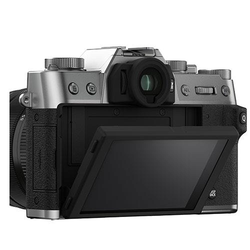 X-T30 II Mirrorless Camera Body in Silver Product Image (Secondary Image 2)