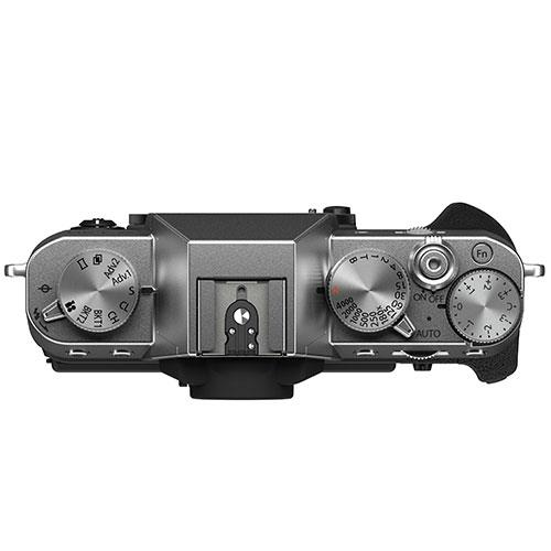 X-T30 II Mirrorless Camera Body in Silver Product Image (Secondary Image 3)
