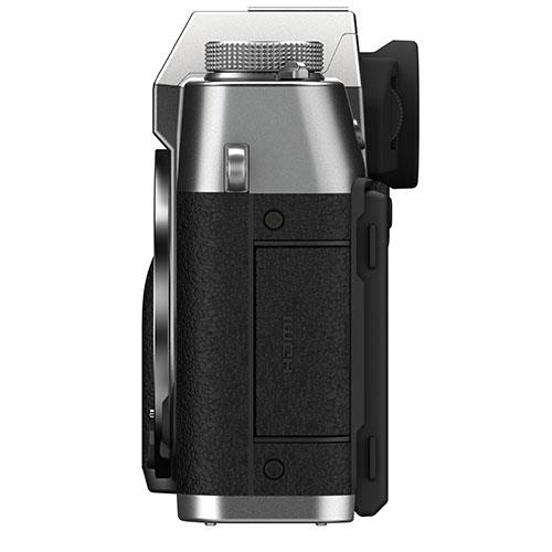 X-T30 II Mirrorless Camera Body in Silver Product Image (Secondary Image 4)