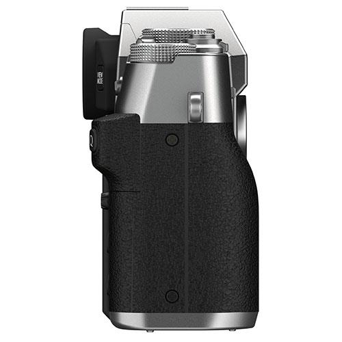 X-T30 II Mirrorless Camera Body in Silver Product Image (Secondary Image 5)
