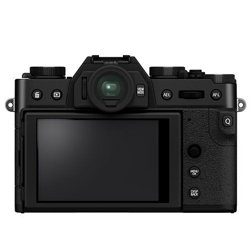 X-T30 II Mirrorless Camera in Black with XC15-45mm Lens Product Image (Secondary Image 2)