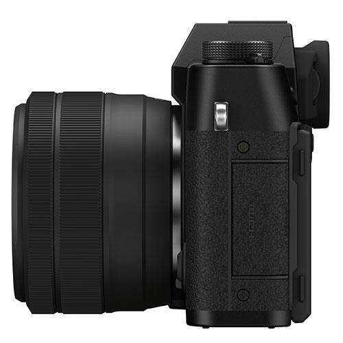 X-T30 II Mirrorless Camera in Black with XC15-45mm Lens Product Image (Secondary Image 5)
