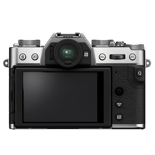 X-T30 II Mirrorless Camera in Siver with XC15-45mm Lens Product Image (Secondary Image 1)