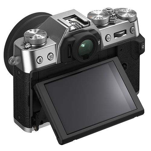 X-T30 II Mirrorless Camera in Siver with XC15-45mm Lens Product Image (Secondary Image 2)