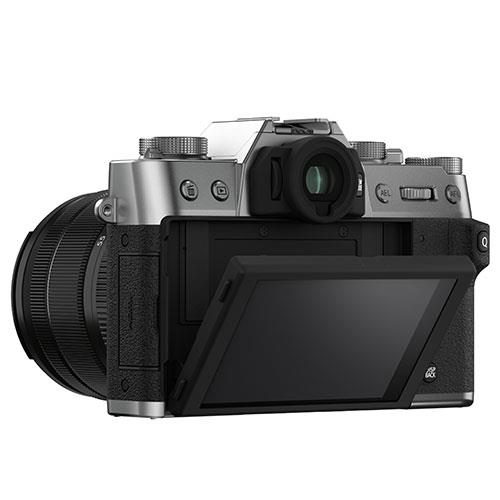 X-T30 II Mirrorless Camera in Silver with XF18-55mm Lens Product Image (Secondary Image 2)