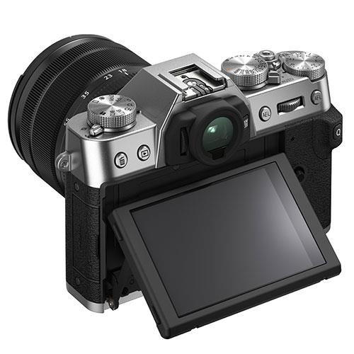 X-T30 II Mirrorless Camera in Silver with XF18-55mm Lens Product Image (Secondary Image 3)