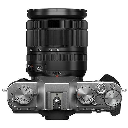 X-T30 II Mirrorless Camera in Silver with XF18-55mm Lens Product Image (Secondary Image 5)