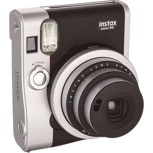 Instax Mini 90 Instant Camera in Black +10 Shots Product Image (Primary)