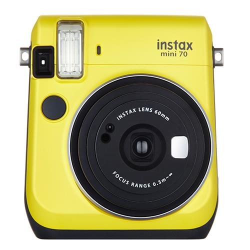 Instax Mini 70 in Yellow + 10 Shots Product Image (Secondary Image 2)