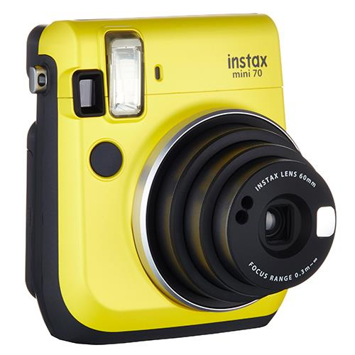 Instax Mini 70 in Yellow + 10 Shots Product Image (Secondary Image 4)